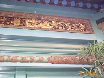 Pacific Asia Museum Carvings